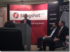 Governor Mitch Daniels at Slingshot SEO